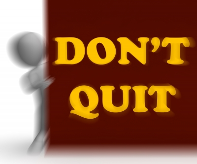 Determination to Succeed in Blogging, Never Quit