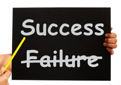Becoming a Successful Blogger, Getting Over Failure