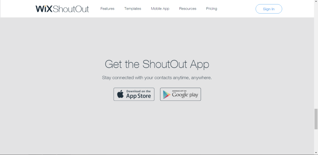Wix ShoutApp to Send Emails while Travelling