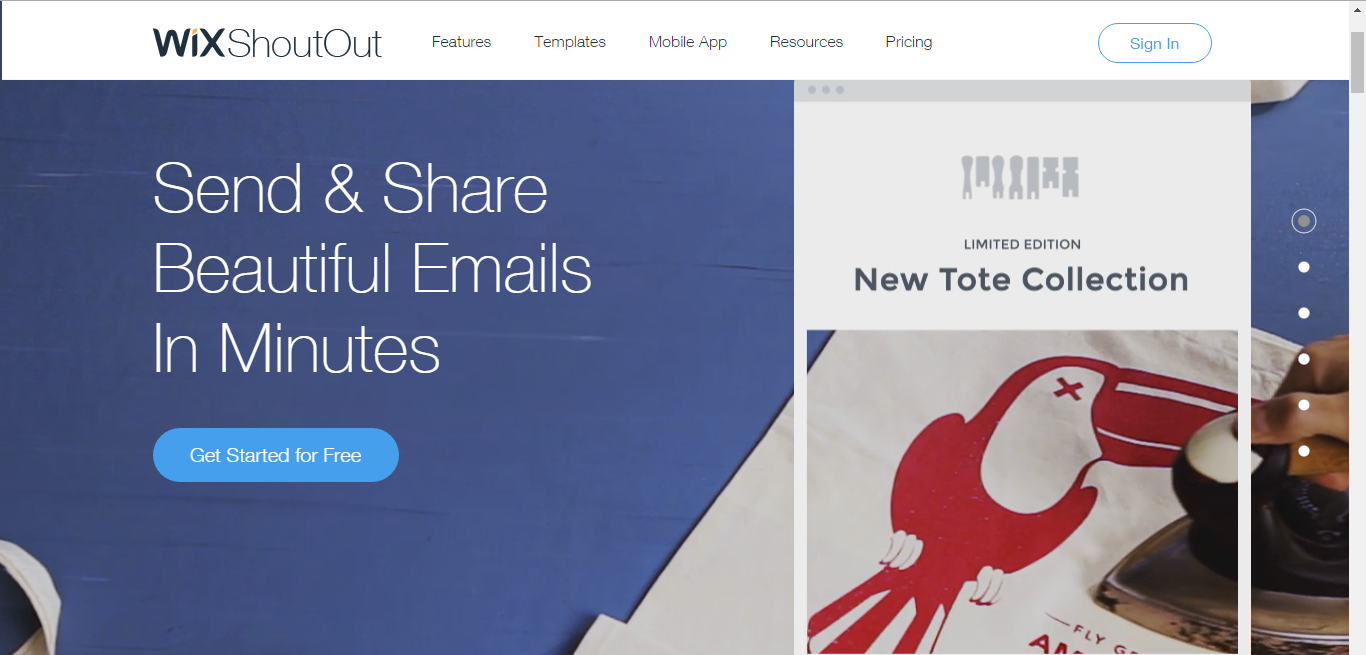 Wix ShoutOut - Making Email Marketing Easier